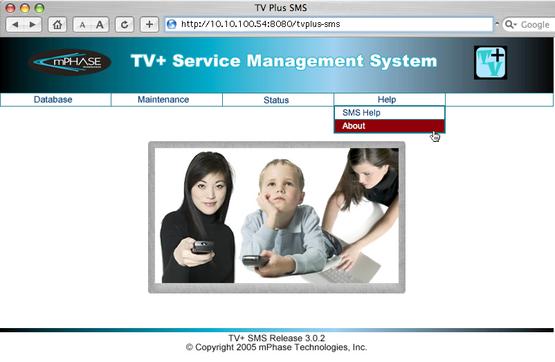 TVPlus Interface